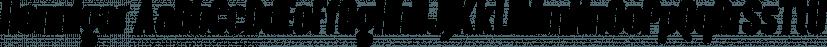 Hennigar font family by Sharkshock