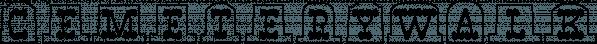 CemeteryWalk font family by Ingrimayne Type