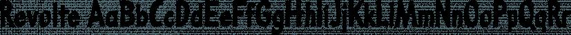 Revolte font family by Wiescher-Design