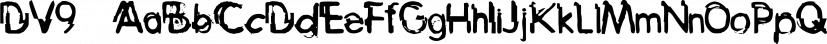 DV9™ font family by MINDCANDY