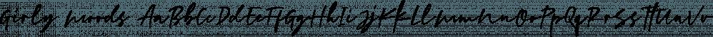 Girly Moods font family by Letterhend Studio