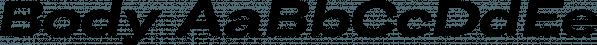 Body font family by Zetafonts