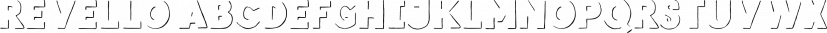 Revello font family by Ahmet Altun