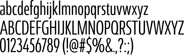 Coegit Font Specimen