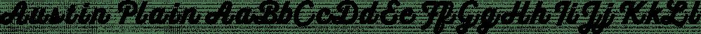 Austin Plain font family by Estudio Calderón