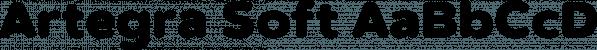 Artegra Soft font family by Artegra