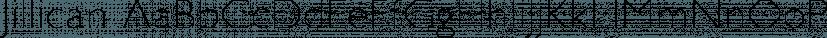 Jillican font family by Typodermic Fonts Inc.