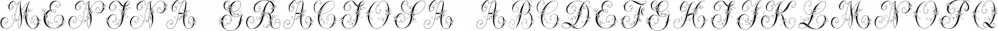 Menina Graciosa font family by Intellecta Design