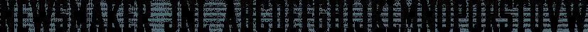 Newsmaker JNL font family by Jeff Levine Fonts