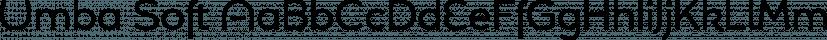 Umba Soft font family by Anita Jürgeleit