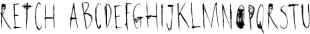 Retch font family mini