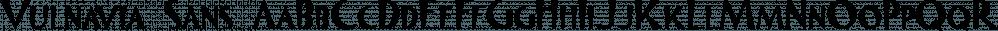 Vulnavia Sans font family by Intellecta Design