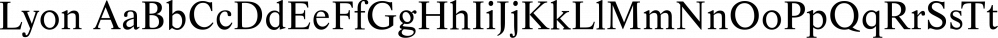 Lyon font family by FontSite Inc.
