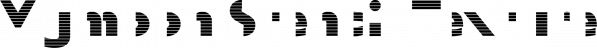 Mymoon Stencil Texture font family by Tour de Force Font Foundry