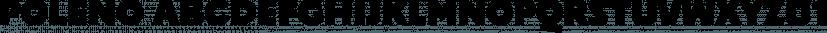 Poleno font family by DizajnDesign