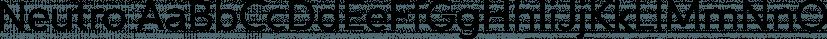 Neutro font family by Durotype