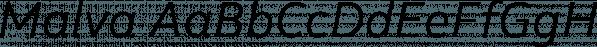 Malva font family by Harbor Type