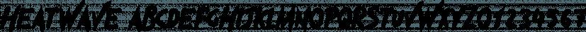 Heatwave font family by Tugcu Design Co