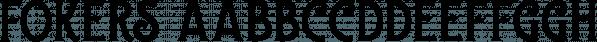 Fokers font family by Letterhend Studio