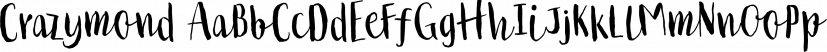 Crazymond font family by Tour de Force Font Foundry