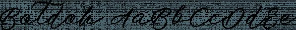 Botdoh font family by Elementype