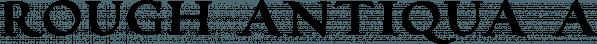 Rough Antiqua font family by vatesdesign
