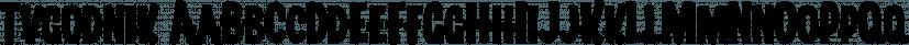 Tygodnik font family by GRIN3 (Nowak)