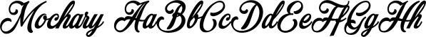 Mochary font family by Måns Grebäck