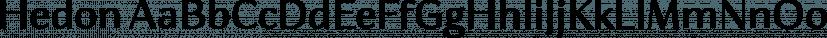 Hedon font family by Tour de Force Font Foundry