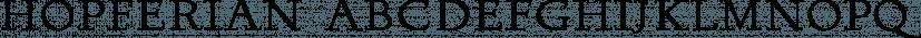 Hopferian font family by 2D Typo