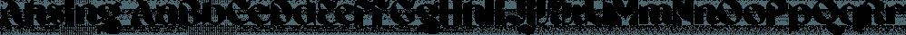 Ahsing font family by Typogama