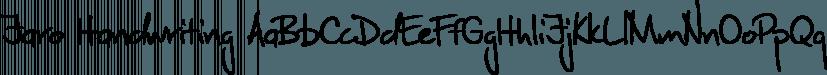 Jaro Handwriting font family by SoftMaker