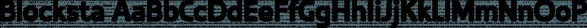 Blocksta font family by Aviation Partners