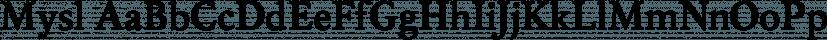 Mysl font family by ParaType