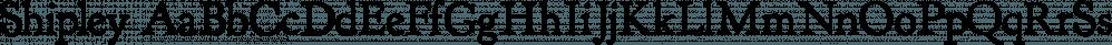 Shipley font family by E-phemera Fonts