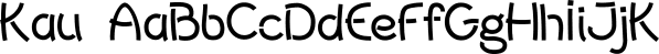 Kau font family by Scholtz Fonts