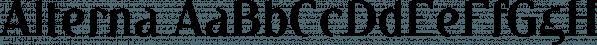 Alterna font family by MINDCANDY
