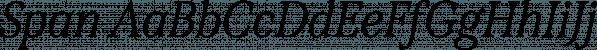 Span font family by Jamie Clarke Type