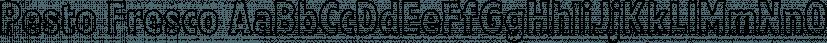 Pesto Fresco font family by Resistenza.es