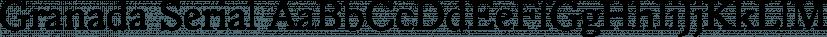 Granada Serial font family by SoftMaker