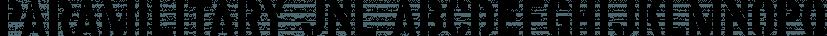 Paramilitary JNL font family by Jeff Levine Fonts