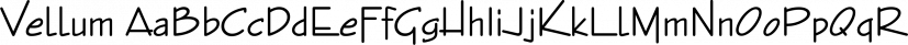 Vellum font family by FontSite Inc.
