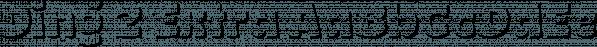 Ding 2 Extra font family by Rodrigo Typo
