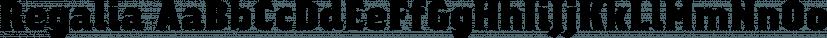 Regalia font family by Philatype
