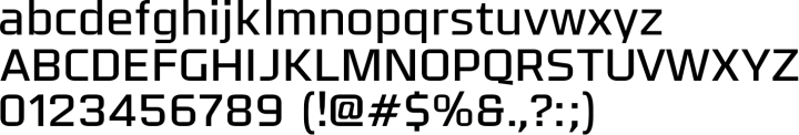 Olney Font Specimen
