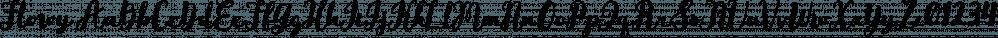 Flowy font family by Typesketchbook