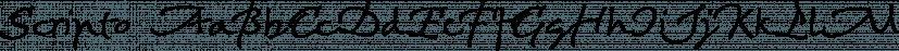 Scripto font family by BAT Foundry