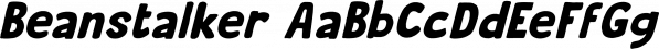 Beanstalker font family by Hanoded