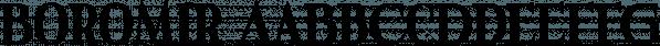 Boromir font family by GRIN3 (Nowak)