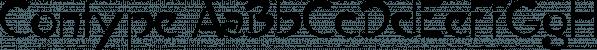 Contype font family by Wiescher-Design